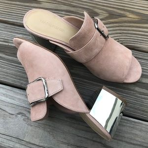 Marc Fisher Women Heel Suede Leather MFRIMA Blush